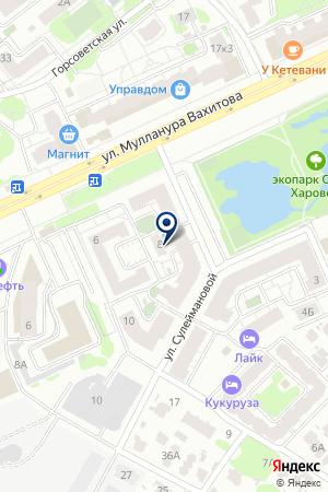МАГАЗИН ДВЕРЕЙ ЦЕРБЕР на карте Казани