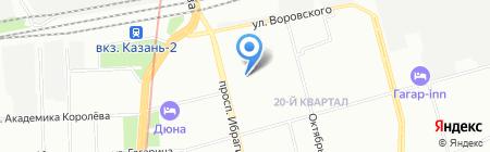 Своя вода на карте Казани