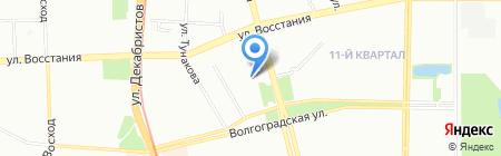 Детрон на карте Казани