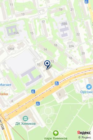 ПРОЕКТНАЯ ОРГАНИЗАЦИЯ ТАТАГРОПРОМПРОЕКТ на карте Казани