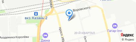Детский сад №275 на карте Казани