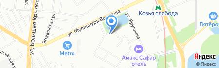 Фабрика декораций на карте Казани