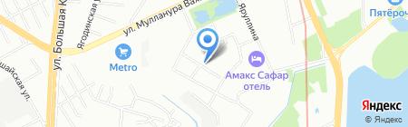 Техно на карте Казани