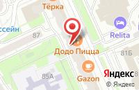 Схема проезда до компании Арт-Пресс в Казани