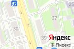 Схема проезда до компании Strong Fit в Казани