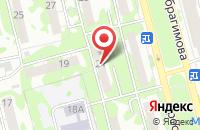 Схема проезда до компании Пресс-Центр в Казани