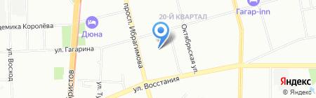 Отдел полиции №7 Гагаринский на карте Казани