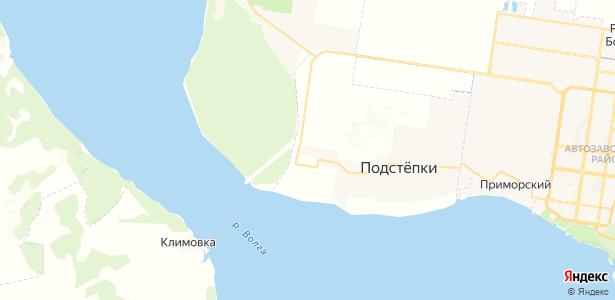Подстепки на карте