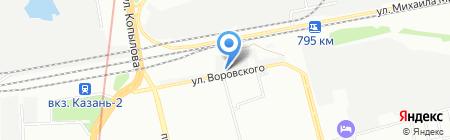 Check engine на карте Казани