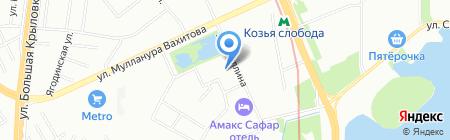 Управление надзорной деятельности на карте Казани