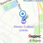 Сабантуй на карте Казани
