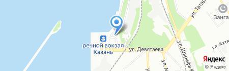 ГЕРМЕС КАЗАНЬ на карте Казани