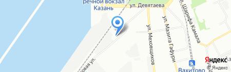 Анамат+ на карте Казани