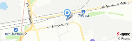 ЭлектрикАвто на карте Казани