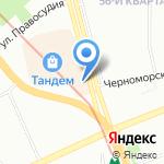 На Ибрагимова на карте Казани