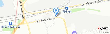 Motor Service на карте Казани