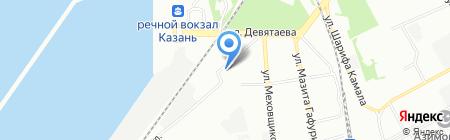 Маркер игрушка на карте Казани