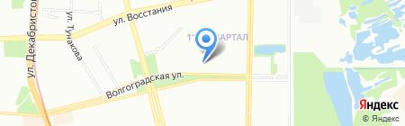 Средняя общеобразовательная школа №91 на карте Казани