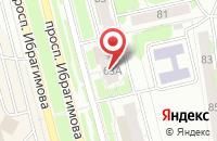 Схема проезда до компании Экойл в Казани