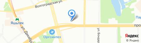 Рублёвка на карте Казани