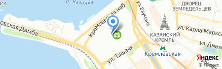 Аквавита на карте Казани
