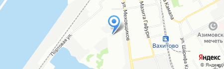 Паритет-РК на карте Казани