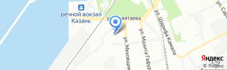 Детский сад №190 Золотая рыбка на карте Казани