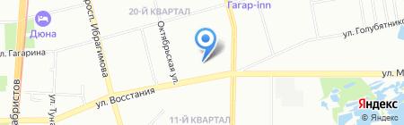 Казань Барс-Строй на карте Казани