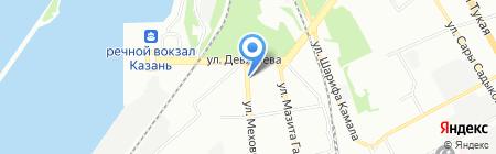Роста на карте Казани