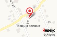 Схема проезда до компании Семиозерское сельское поселение в Озерном