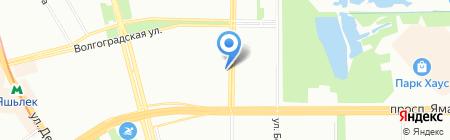 Эверест на карте Казани