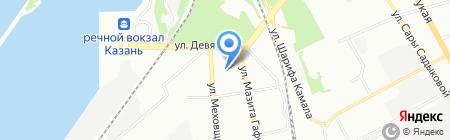 Детский сад №63 Солнышко на карте Казани
