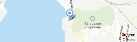 Навигатор на карте Казани