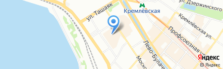Л`Этуаль на карте Казани