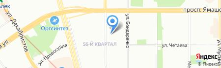 Средняя общеобразовательная школа №20 на карте Казани