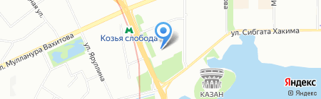 Ипотекарь на карте Казани