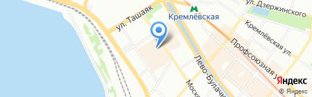 Императорский фарфор на карте Казани
