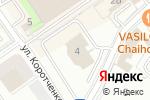 Схема проезда до компании Табак РТ в Казани