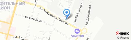 Пандора на карте Казани