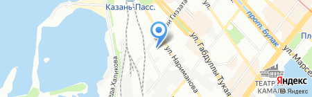 Автоклиника на карте Казани