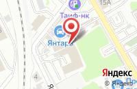 Схема проезда до компании Алфавит в Казани