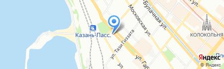 Kazan Travels на карте Казани