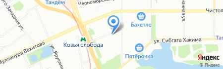 Автоэмали+ на карте Казани