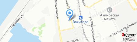 Меховая ярмарка на карте Казани
