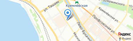 Триумф Интерьер на карте Казани