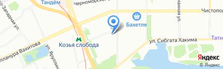 Liber на карте Казани