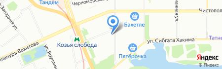 KORA на карте Казани
