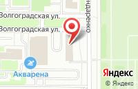 Схема проезда до компании Знак - Полиграф в Казани