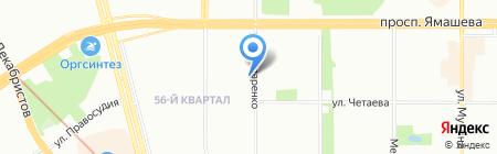 Бронь-Тур на карте Казани