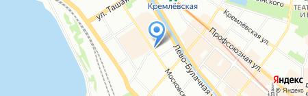 Федеральная почтовая служба на карте Казани